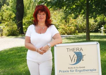 Elvira Bulka, die Geschäftsführerin von Thera-Vital Bulka & Co. GmbH