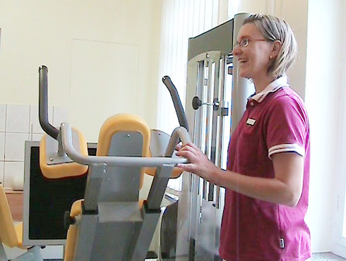 Ergotherapie mit Trainingsgeräten